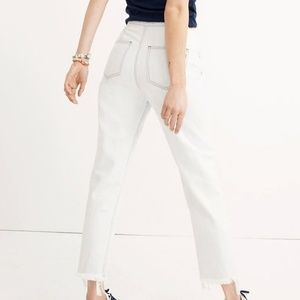 Madewell Tapered Wide Leg Jeans, 27